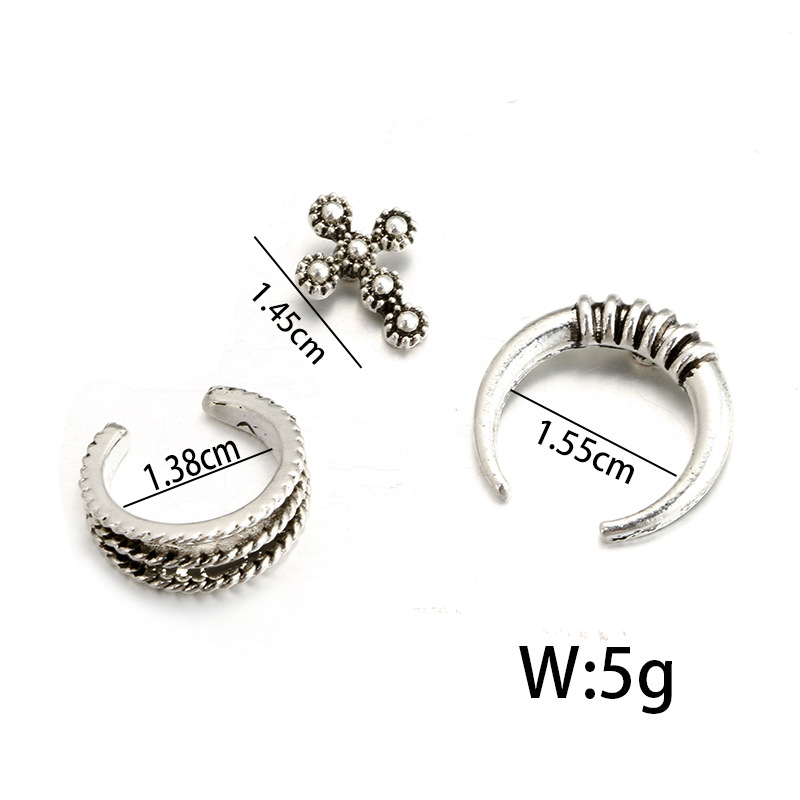 plating Jewelry Set (Photo Color)NHGY0614-Photo Color