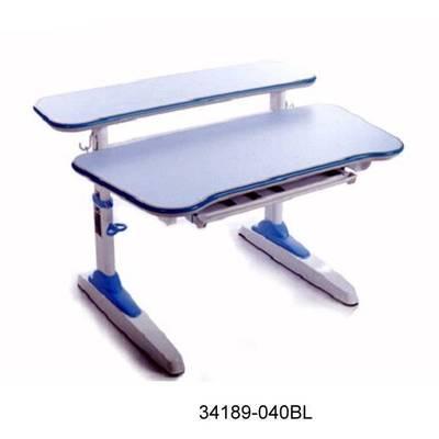 热销成长升降书桌 多功能学习桌椅 学生绘画桌写字台34189-039BL