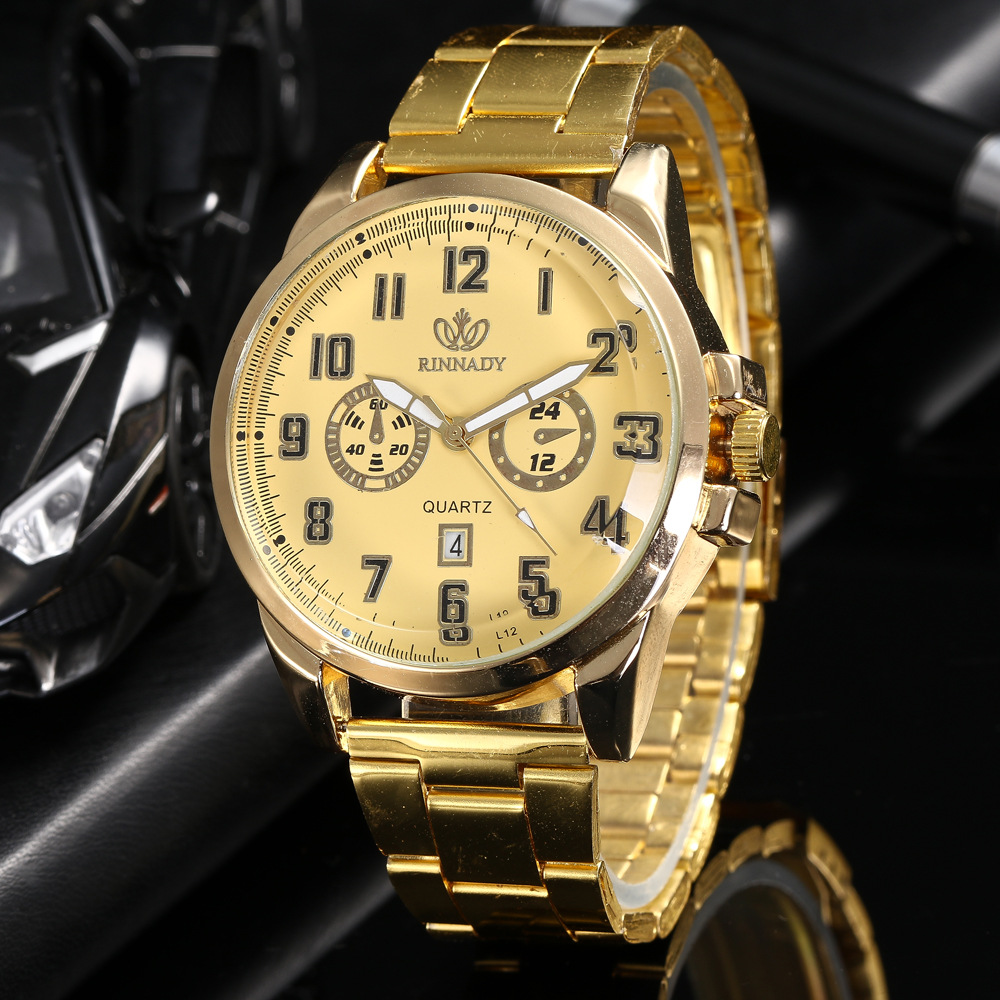 fashion Watch (Gold)NHHK0868-Gold