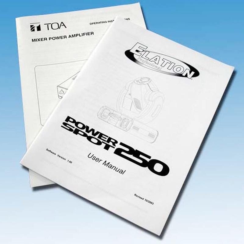 印刷说明书定做画册彩页宣传单产品说明书折页说明书印刷定制