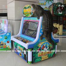 儿童投币游艺机 疯狂鳄鱼拍拍乐游戏机 2018全新对战竞技电玩设备