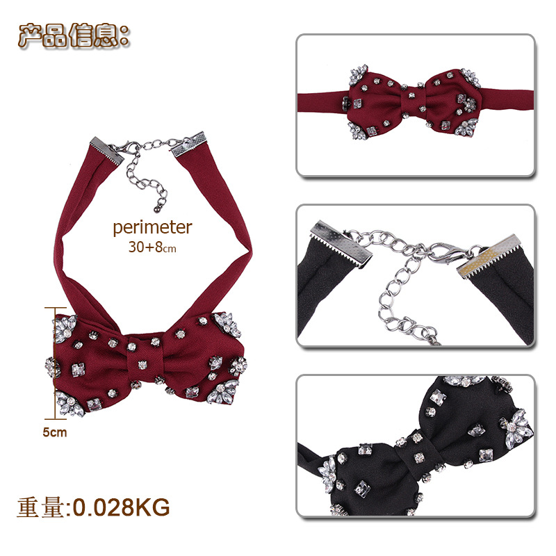 Fashion Alloy Bows  NHJQ9808-black