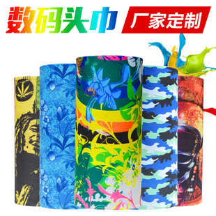 3d digital seamless printing printing headscarves outdoor sports cycling headscarves factory printing digital headscarves custom