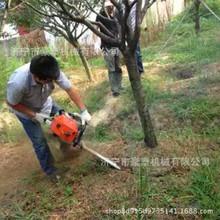 汽油链锯式挖树机 苗木移栽起树机 便携式伐树根起树机 厂家
