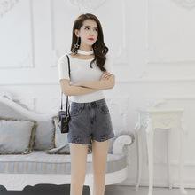 Quần short nữ thời trang, thiết kế thanh lịch, phong cách Hàn