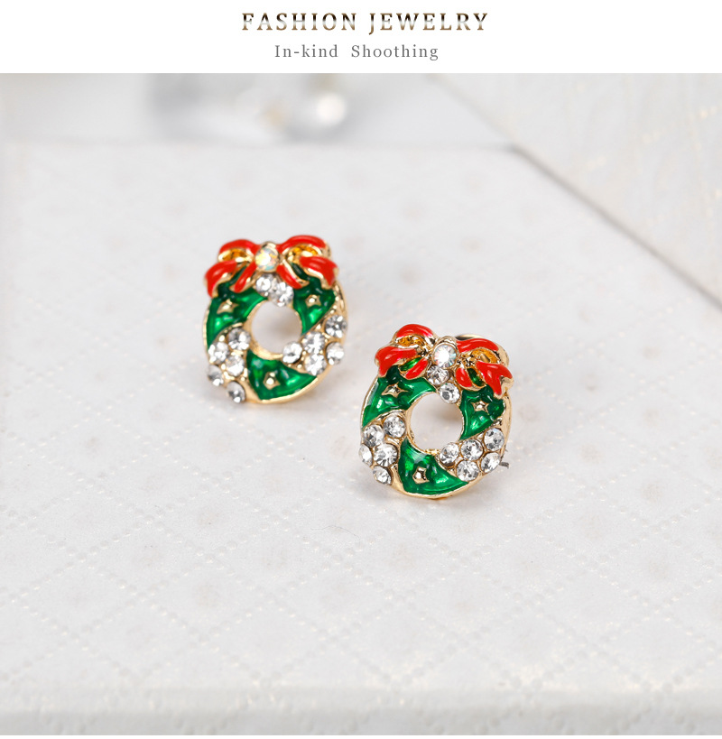Fashion OL alloy plating earring (BA207-A)NHDR1964-BA207-A
