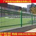 广东成品铁艺围墙栏杆 别墅围栏铁栅栏 小区锌钢护栏现货