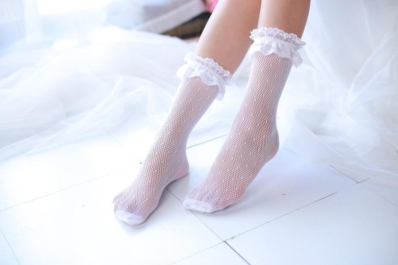 Womens Retro Style Ruffled Trim Lace Ankle Socks Ladies Fancy Dress Accessory