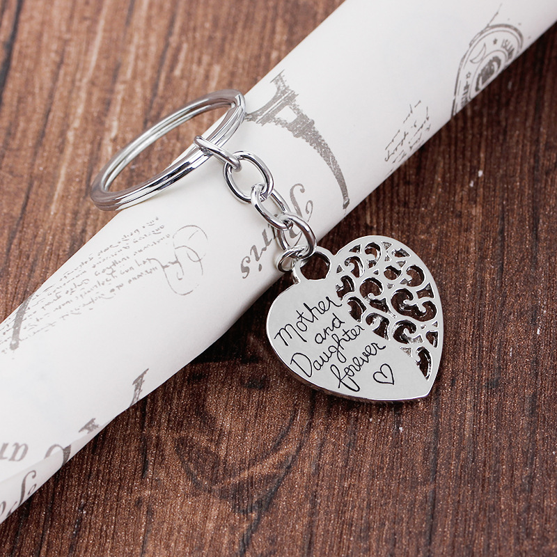explosion keychain mother and daughter mother daughter eternal love keychain wholesale nihaojewelry NHMO220418