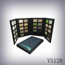 新款规格样品册VS128 展示5格10格样品 石英石ABS塑料样品册