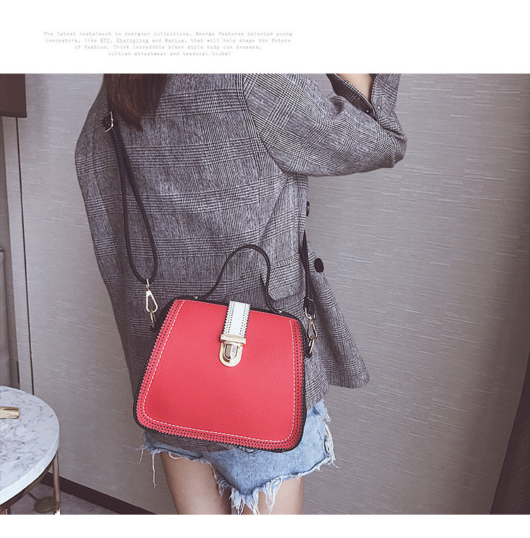 Korean version PUfashion bag (gray)NHPB0236-gray