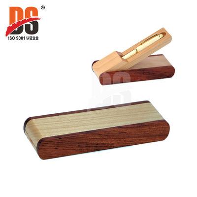热销产品 折叠拼木笔盒 名片槽木笔盒 笔盒 红木笔盒