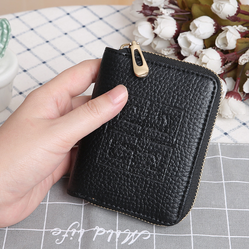 Korean lychee pattern small wallet  NHLAN337338