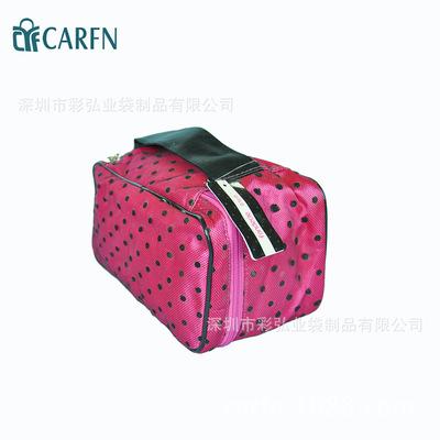 牛津布化妆包大容量便携洗漱包旅行化妆品收纳包化妆袋现货包邮