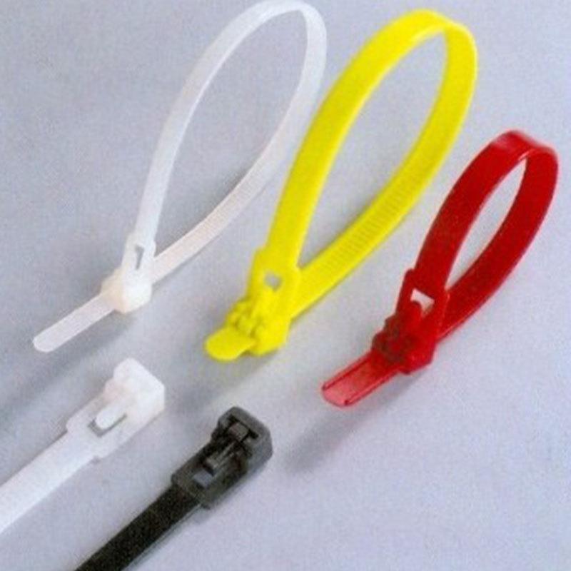 供应 环保尼龙扎带 可松式尼龙扎带 束线带 汽车专用扎带