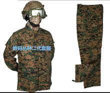 厂家直销户外战术二代丛林数码俄罗斯迷彩套服CS特战作训服美军服