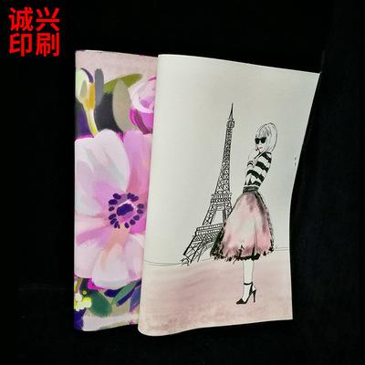 热销PU皮革柯式印刷 高级笔记本PU皮封面高清印刷 UV印刷厂加工厂