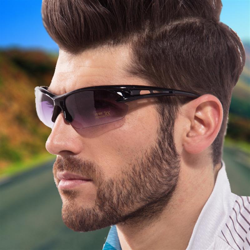 太阳镜男士运动户外骑行眼镜夜视防风防尘防虫墨镜3105礼品定制