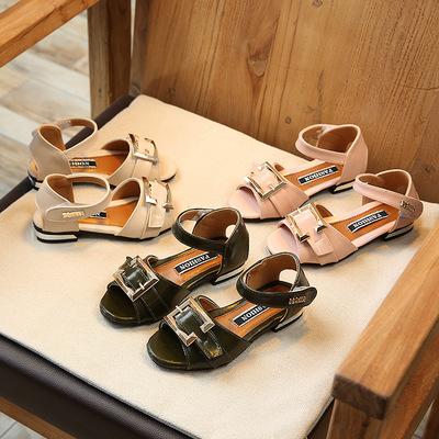Sandals bé gái thời trang, kiểu dáng dễ thương, phong cách Hàn
