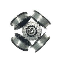 镀锌酸洗铁丝线圈0.05mm 2mm扎丝电动钢筋捆扎机扎丝线圈厂家供应