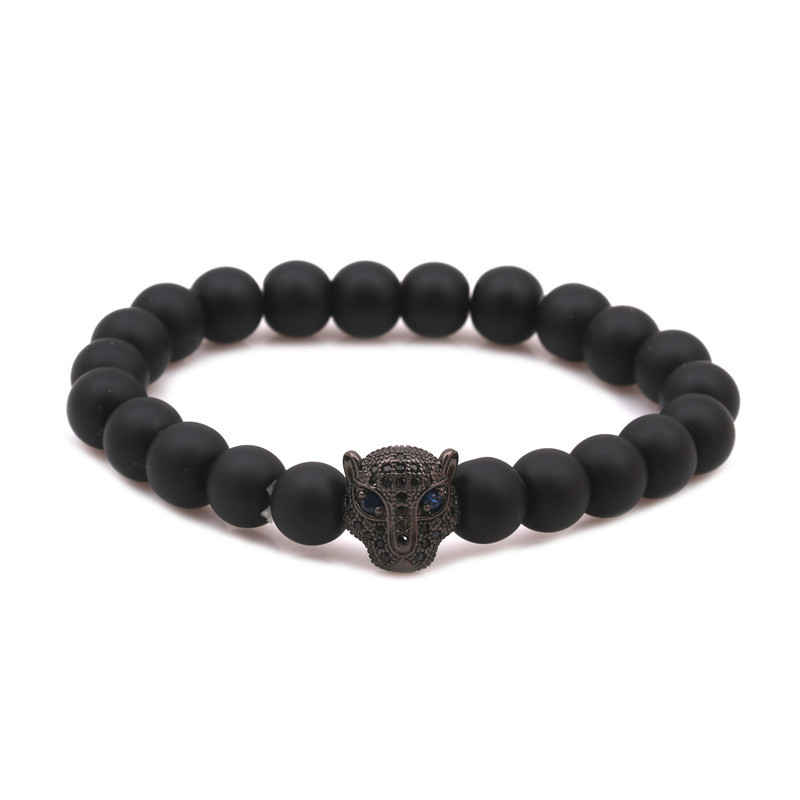 Alloy Fashion Animal bracelet  black NHYL0351black