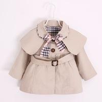 Детское оптовые продажи поколение Pin 2018 осень новая коллекция на младенца для импорта чистый хлопок ветровка куртка на девочку детские для маленькой принцессы верх одежда