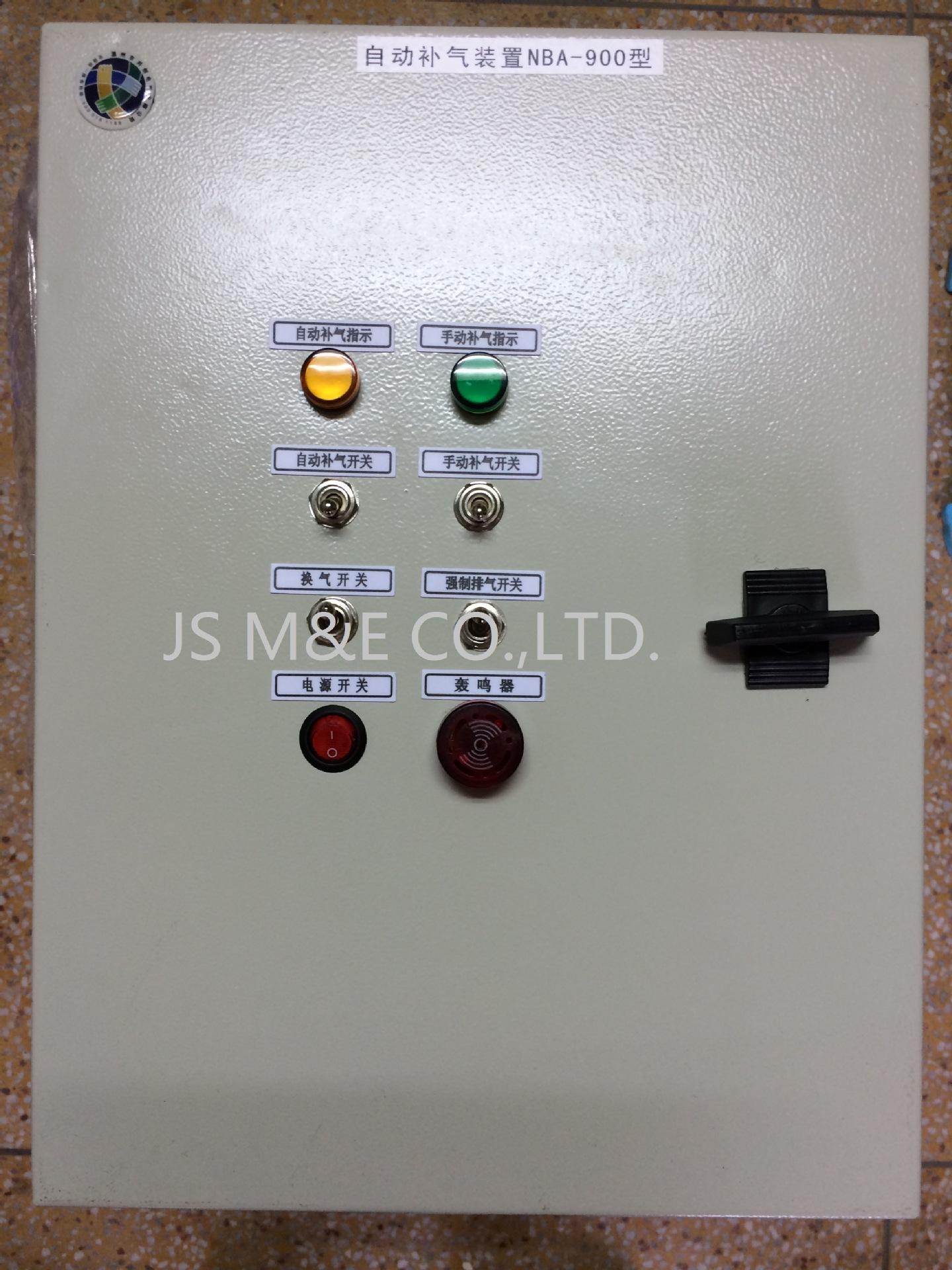 吹膜机下吹水冷自动加气排气装置NBA-900H型光纤