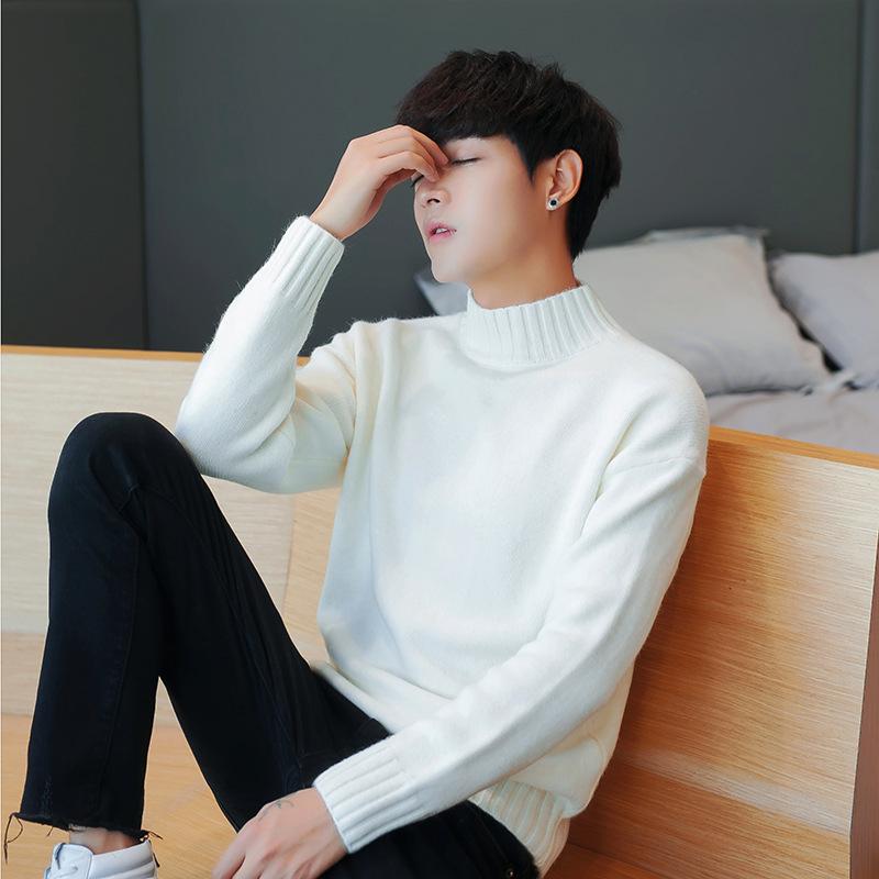 冬季毛衣男高领打底衫韩版毛衫男毛衣针织衫男士毛衫爆款招代理