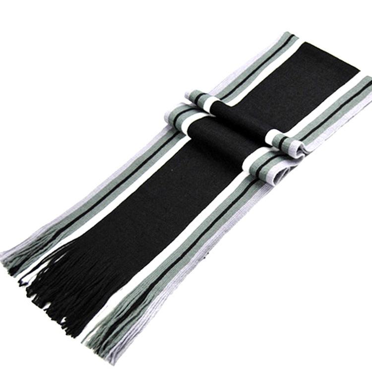 多款可选秋冬款男士流苏保暖围巾加厚加宽条纹男式围脖 围巾批