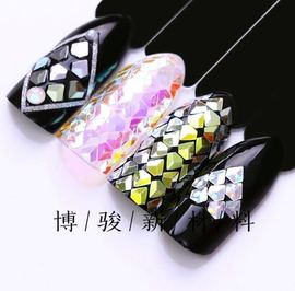 Nail Art Diamond Sequins Nail Art Decoration Sequins Imported Neon Powder Imported Yunjin Powder Imported Mirror