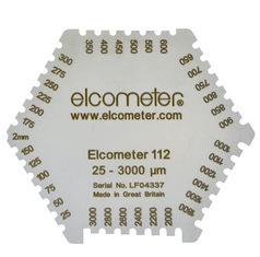 Elcometer 112AL, 112 & 3236 六角湿膜梳,铝制湿膜梳 不锈钢湿