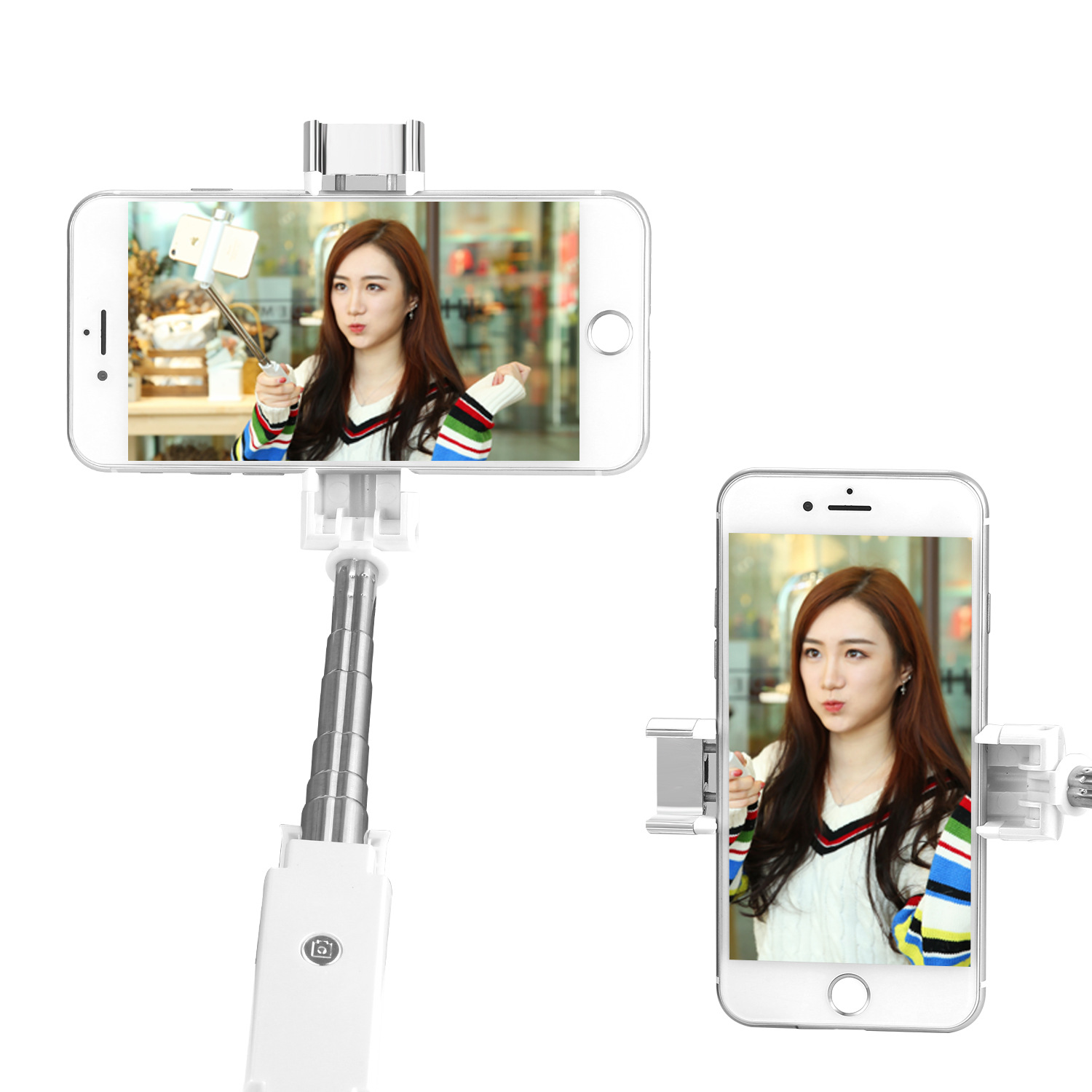 Toko 2018 Updated Generic Version Original Selfie Stick Bluetooth Wireless Self Timer Portable Shutter Bluetooth Remote Shutter Kit For Ios Android Phone Intl Online Tiongkok