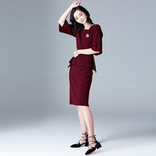 精致两件套裙女神2018春装新款时尚洋气小香风秋冬季时髦套装女潮