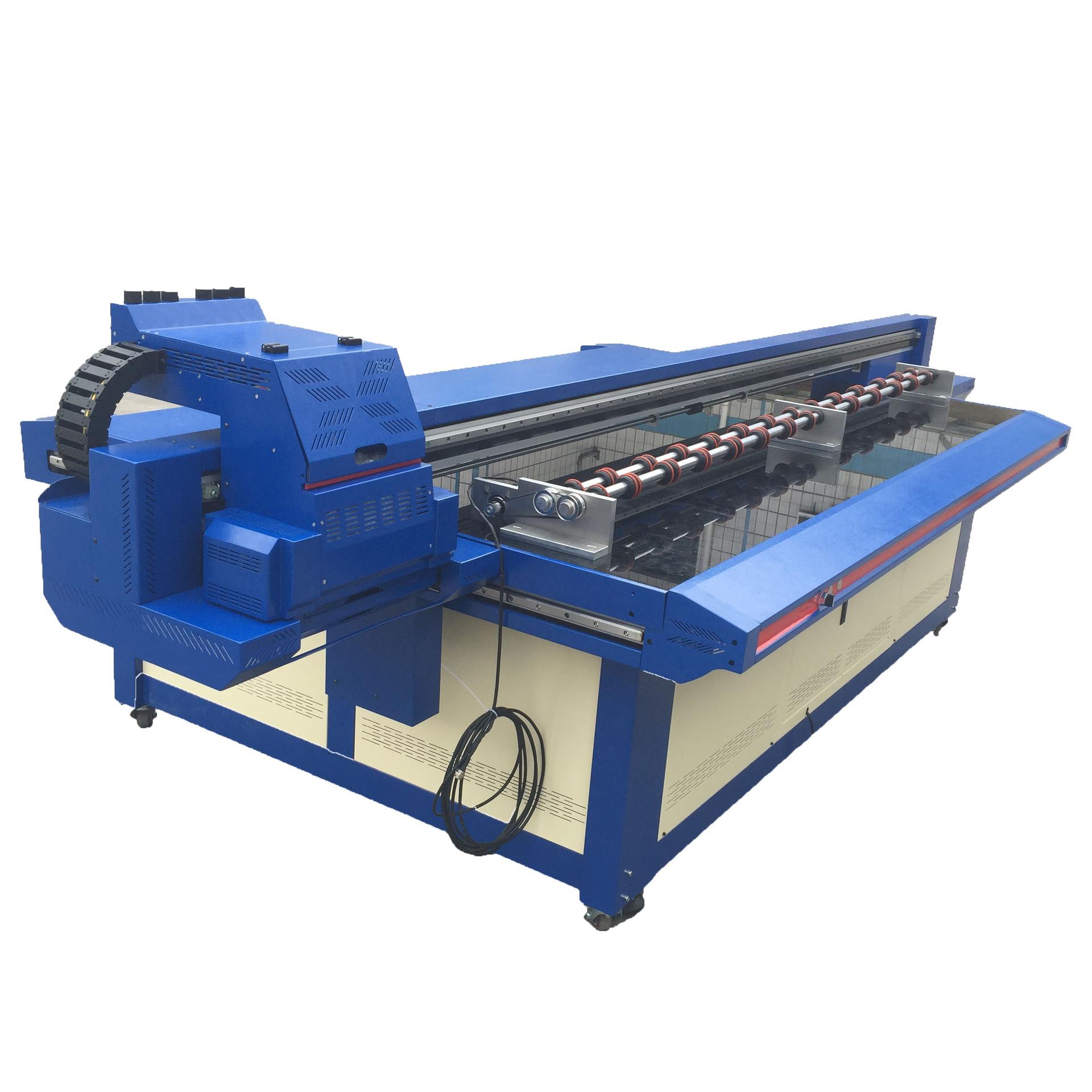 二手6090UV浮雕平板打印机 个性手机壳 个性服装彩印UV平板打印机