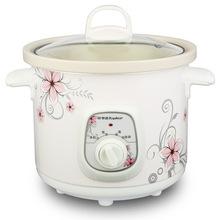 榮事達電燉鍋 白瓷迷你電燉盅陶瓷煲湯煮粥鍋1.5L2.5L3.5L4.5L6L