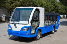 電動四輪八桶車 環衛保潔電動裝桶車 中型后裝卸式垃圾車 運輸車