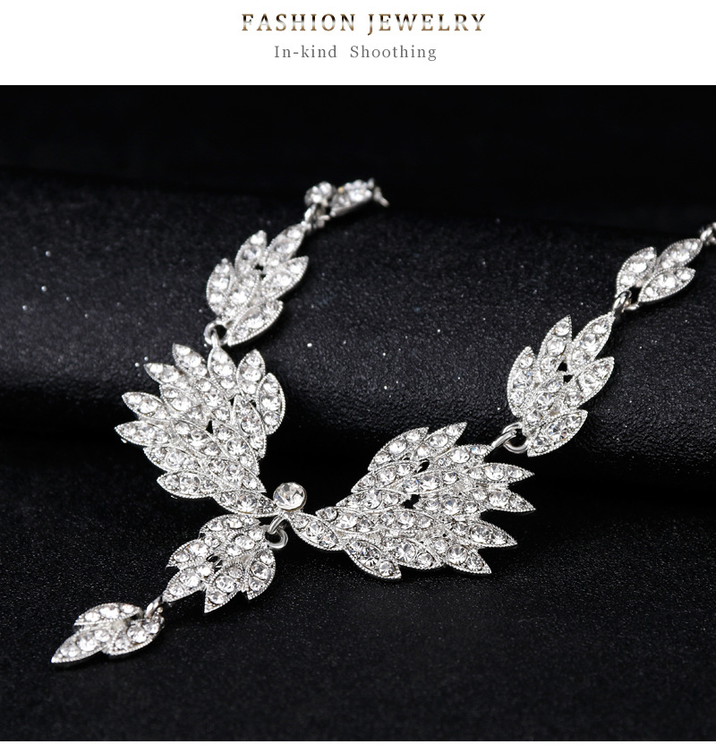 Fashion Alloy plating Jewelry Set  (Alloy)  NHDR2364-Alloy
