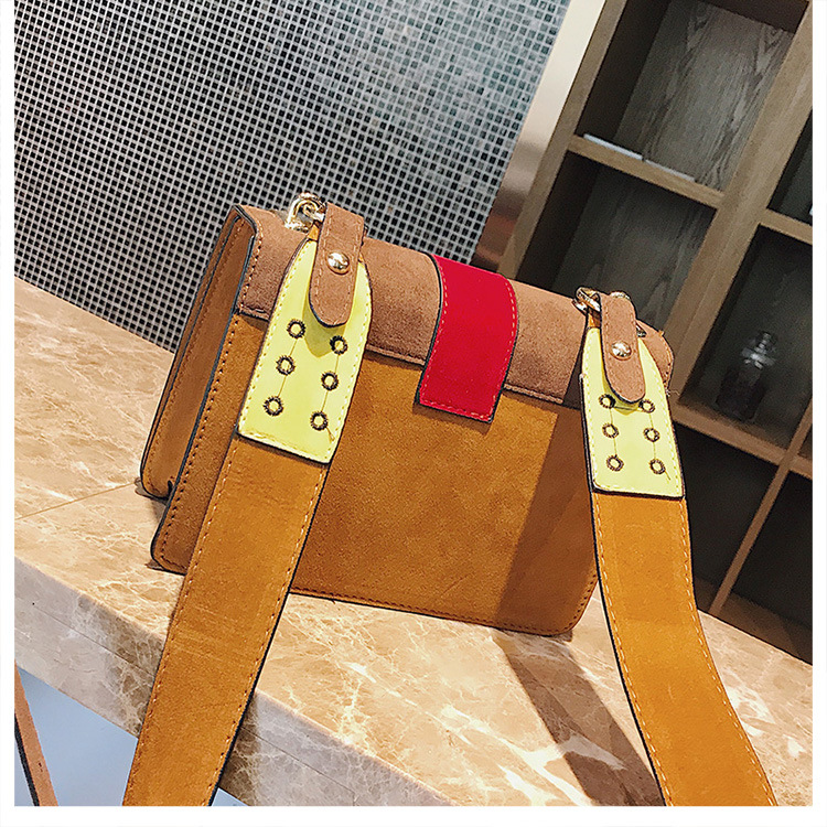 Korean version PUShoulder Bags (brown)NHPB0755-brown