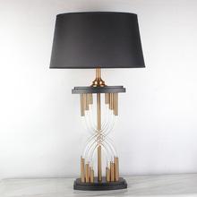 美式后现代水晶台灯 欧式时尚个性奢华酒店别墅设计师样品间台灯