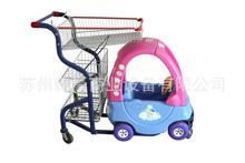 雙框超市童趣車購物車超市手推車玩具購物車塑料手推車廠家直銷