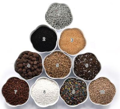 多肉植物营养土 育苗土陶粒铺面铺底多肉种植土 景朗园艺