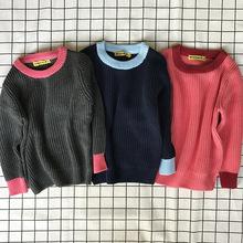 2017童装秋装新款韩版儿童套头毛衣ins风格男宝宝女宝宝针织衫