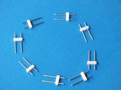 嘉皓专业生产供应灯杯用带胶带线MR16插针 线长50mm 针长16MR16灯