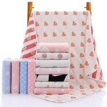 厂家直销六层纱布儿童卡通毛巾被 40股纯棉可爱童被宝宝婴儿盖被