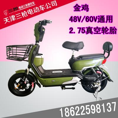 天津三枪电动车厂家批发供应电动车电动摩托车电瓶车 电动车批发