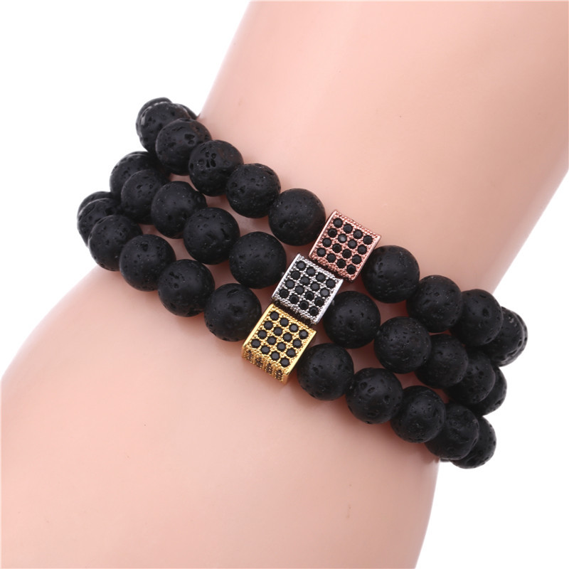Alloy Fashion Geometric bracelet  (black) NHYL0337-black