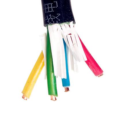 直销 99.99%裸铜线 yjv3*2.5 电力电缆 铜芯 交联 电缆线3*2.5