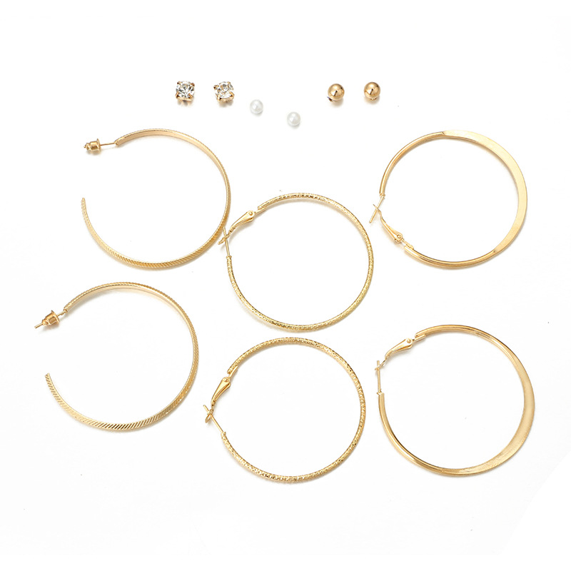 plating Jewelry Set (silver)NHGY0627-silver