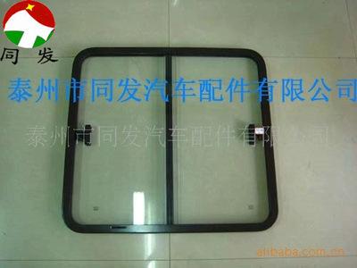 同發汽配供應汽車車窗汽車玻璃鋁合金型材透明鋼化玻璃