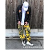 BIG FOR SAM Color Camo Tactical BDU Pant 迷彩工装休闲裤男